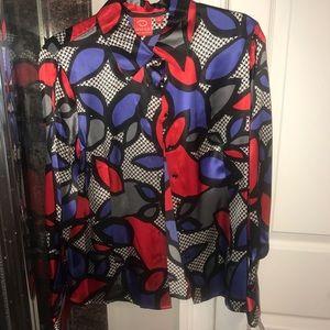 Oscar De La Renta vintage blouse with tags